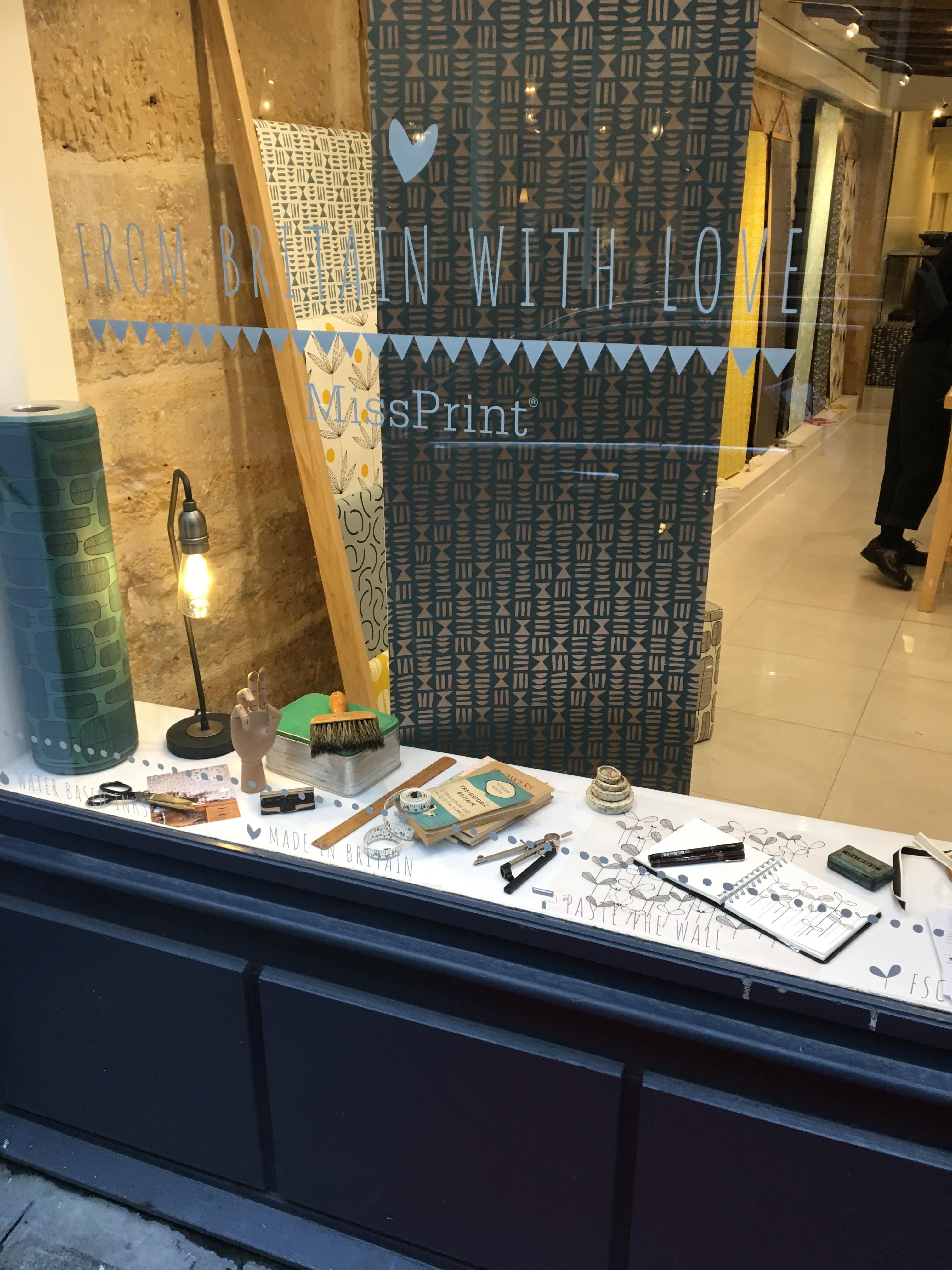MissPrint window, Paris Deco Off 2018