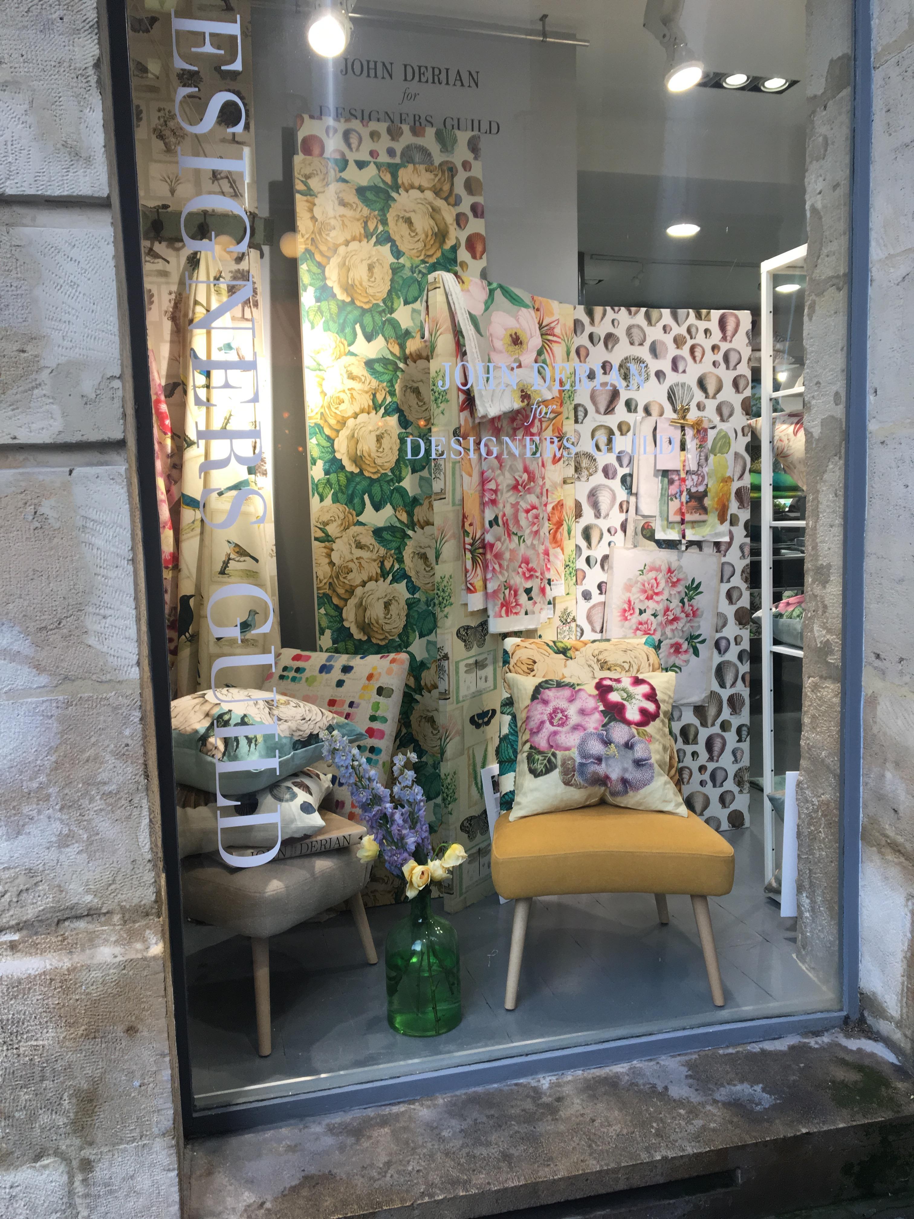 Designers Guild window, Paris Deco Off 2018