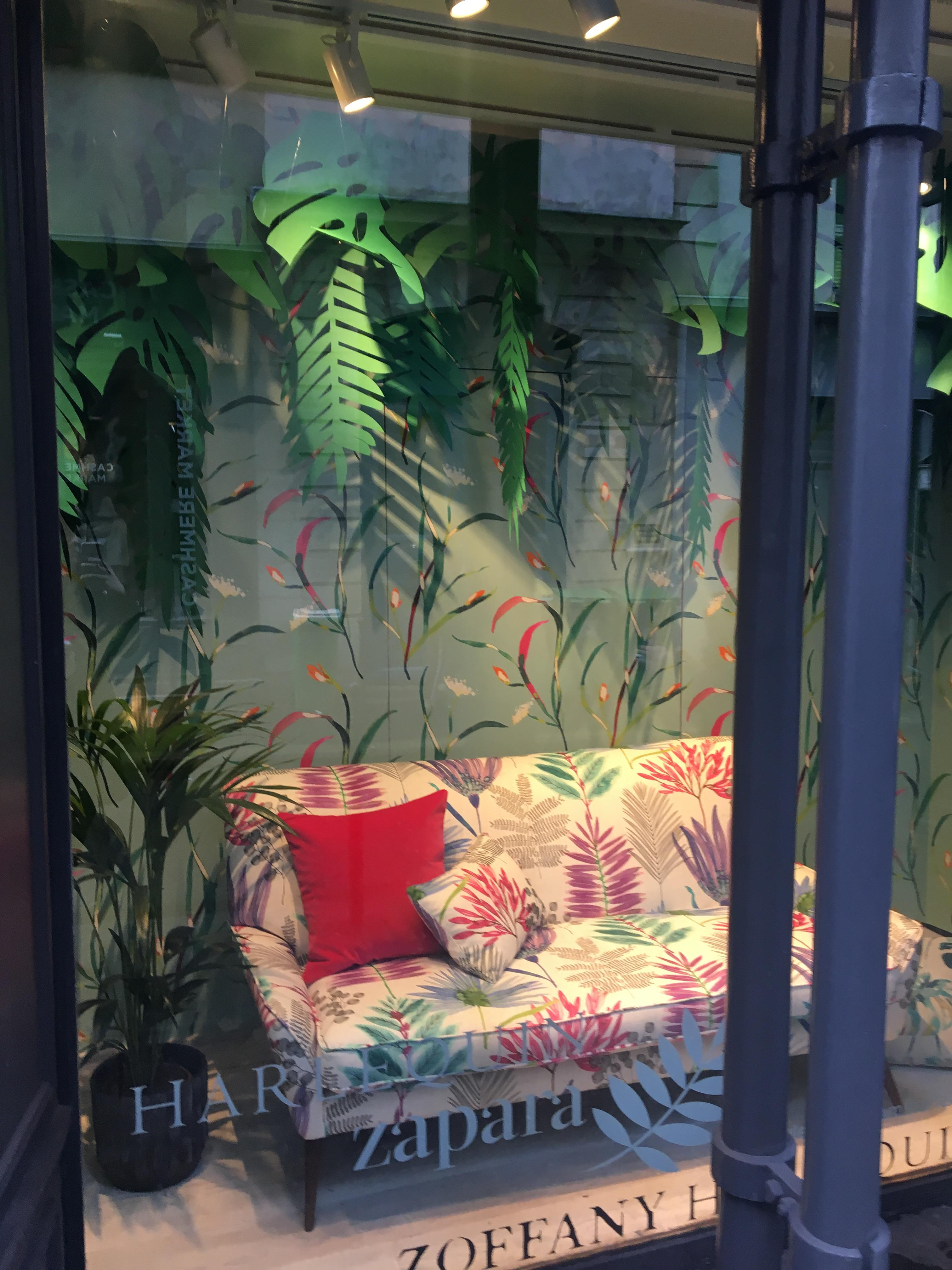 Style Library window, Paris Deco Off 2018