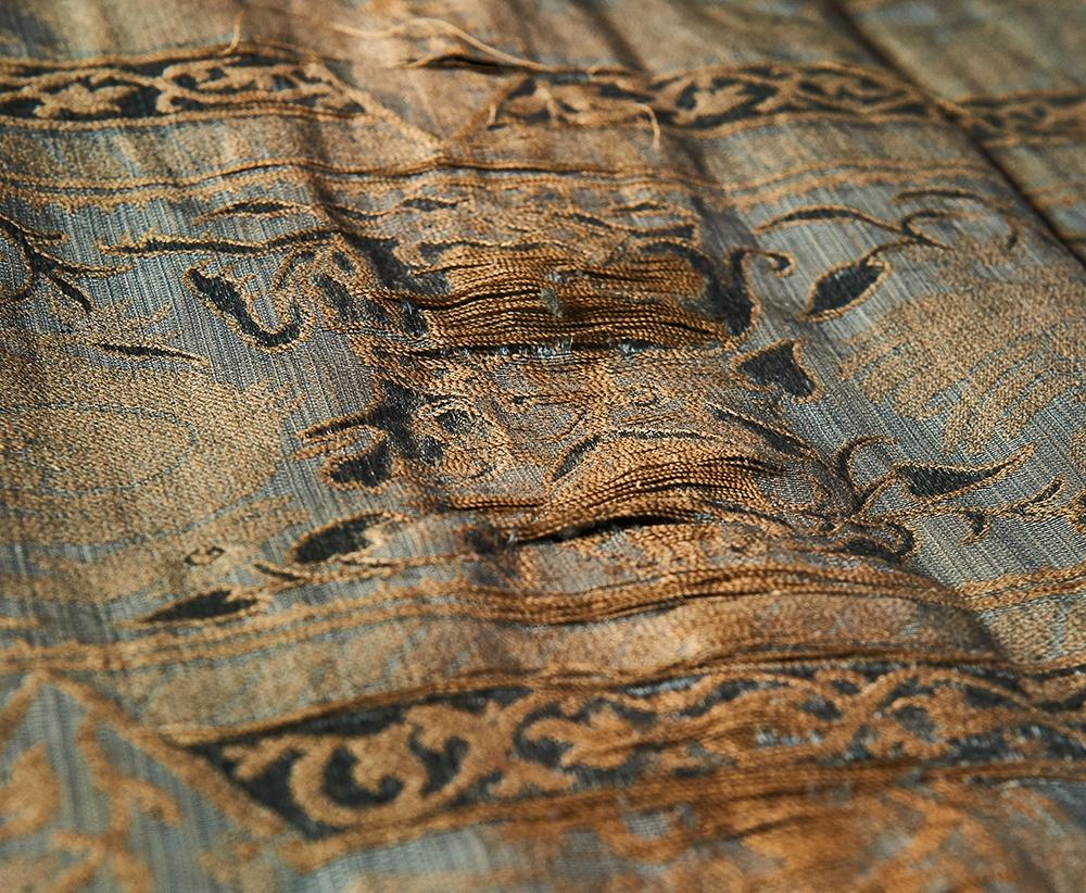 Philbrook Museum Damask Close-up