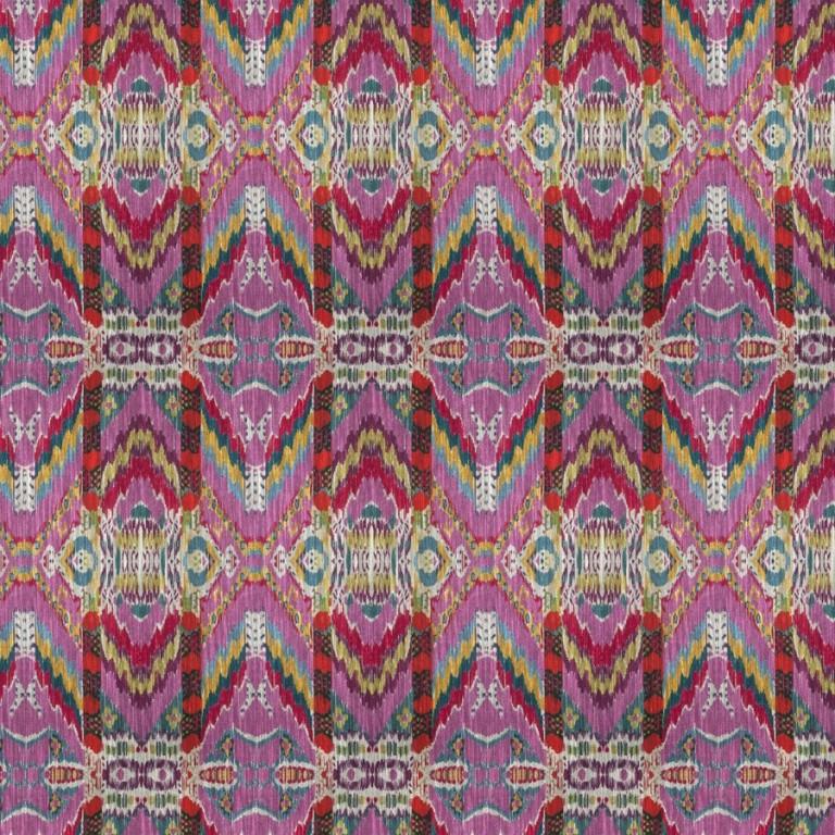 Rythmic Pink Lotus fabric