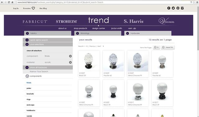 Trend_Finial_Acrylic_Search