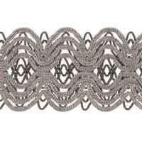 Junya Platinum trim, trimmings, decorative trimmings, fabricut trimmings