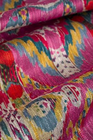 Vervain Rhythmic Pink Lotus fabric