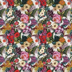 Secret Garden fabric, floral fabrics, floral upholstery, asian florals, retro florals