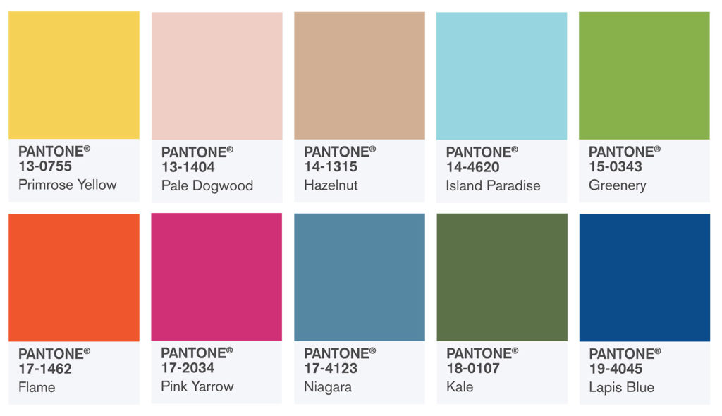 Let Spring Inspire You: Pantone® Spring 2017