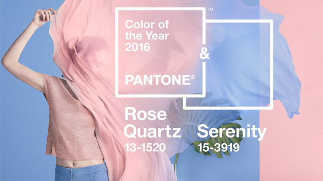 Be Inspired: Colors of the Year 2016