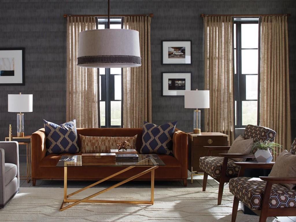 Be Fabricut: Menswear Inspired Interiors