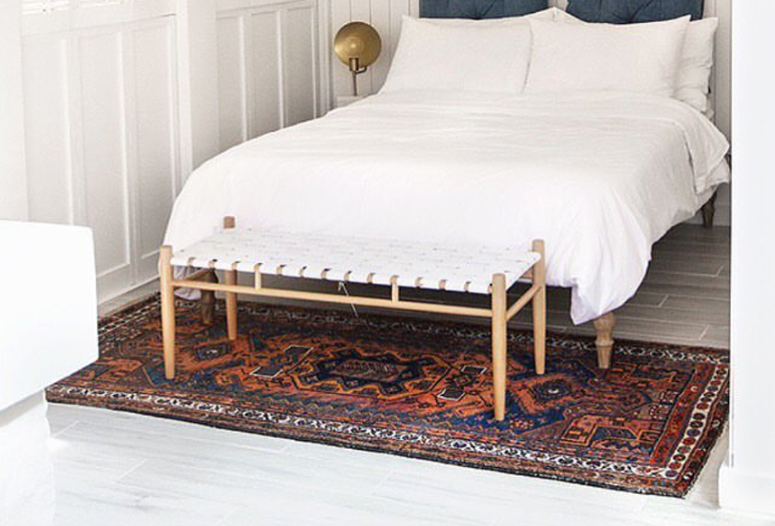 Designing with Vintage Rugs